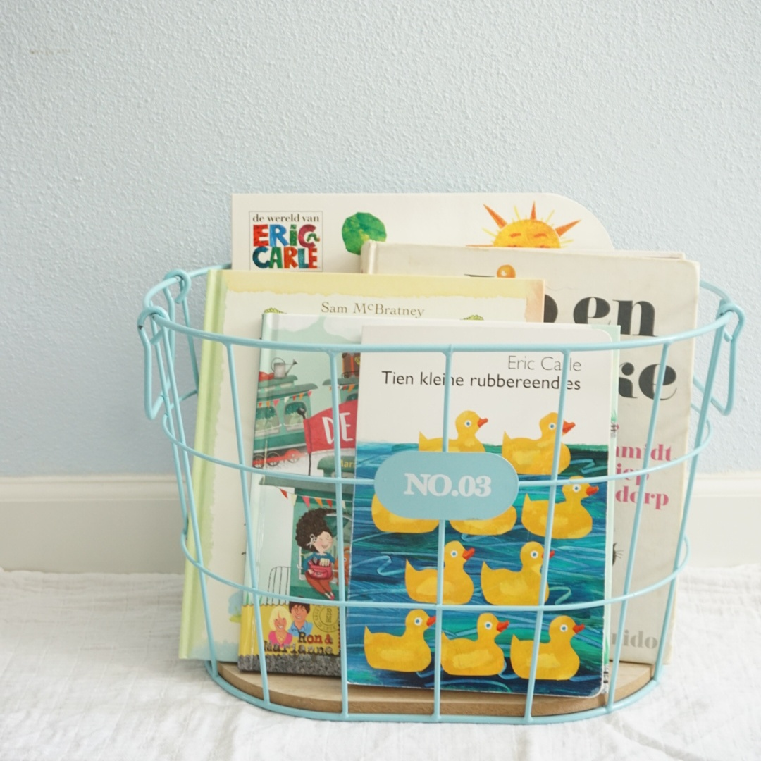 5 favoriete boeken voor een baby