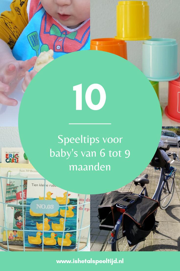 10 speeltips voor baby 6 – 9 maanden