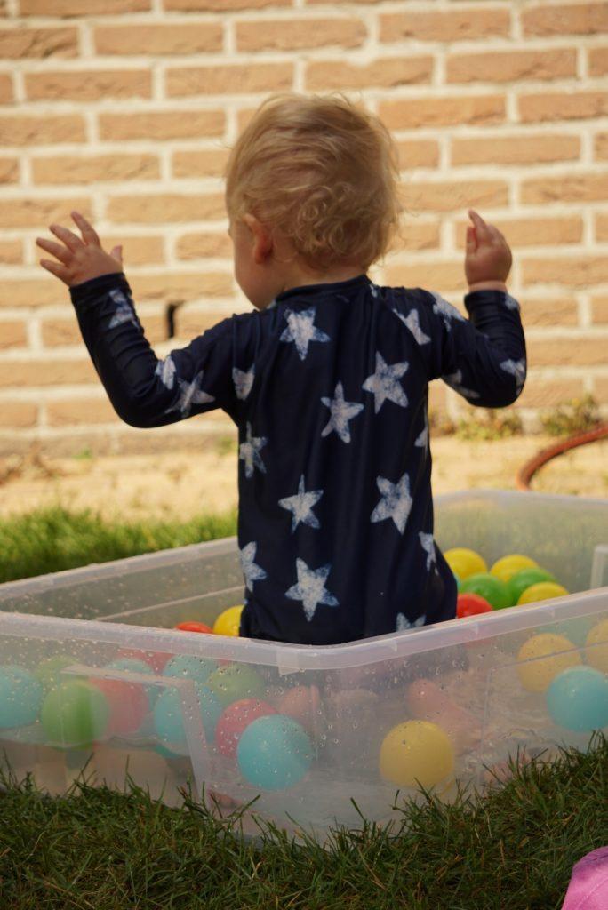 waterspelletjes voor baby's en dreumesen