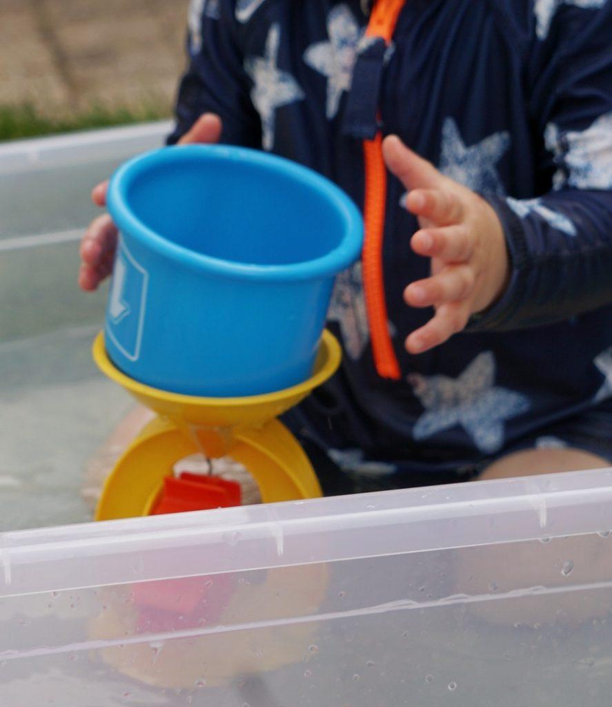 Spetterende waterspelletjes voor baby's en dreumesen