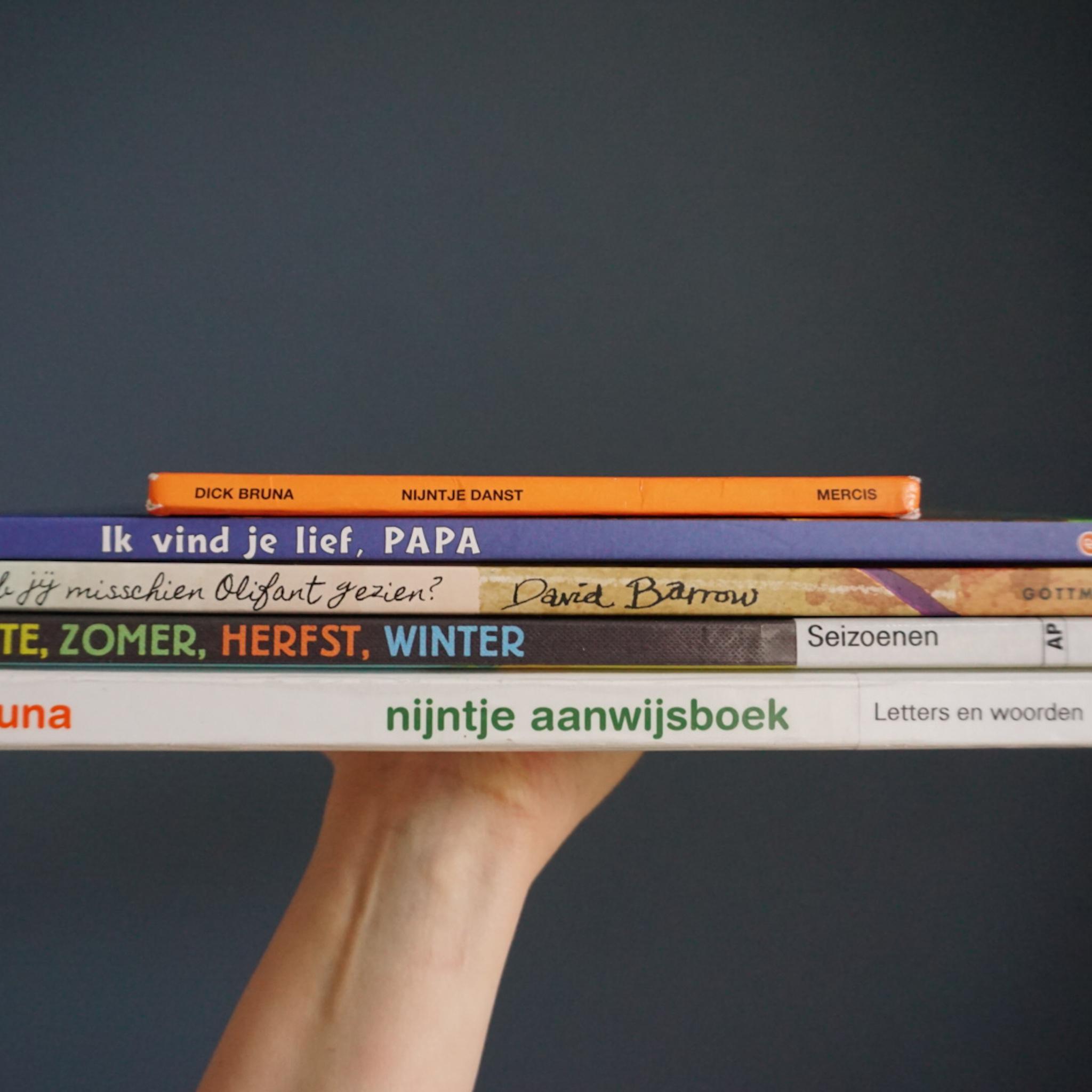 Welke boeken lezen we met 18 maanden?