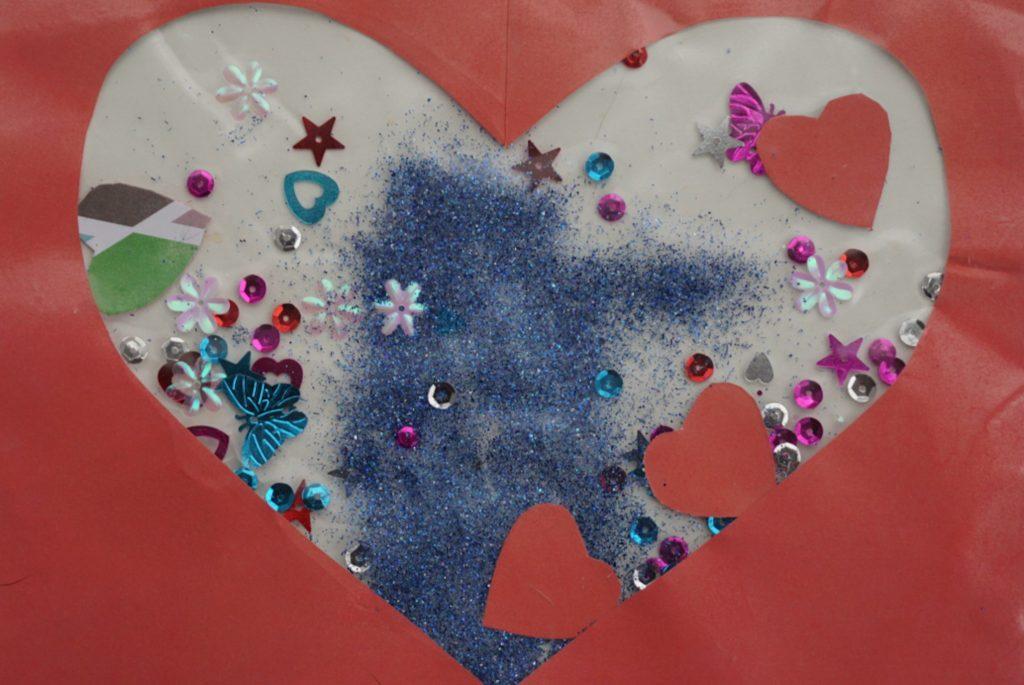 valentijnsdag knutsel placemat
