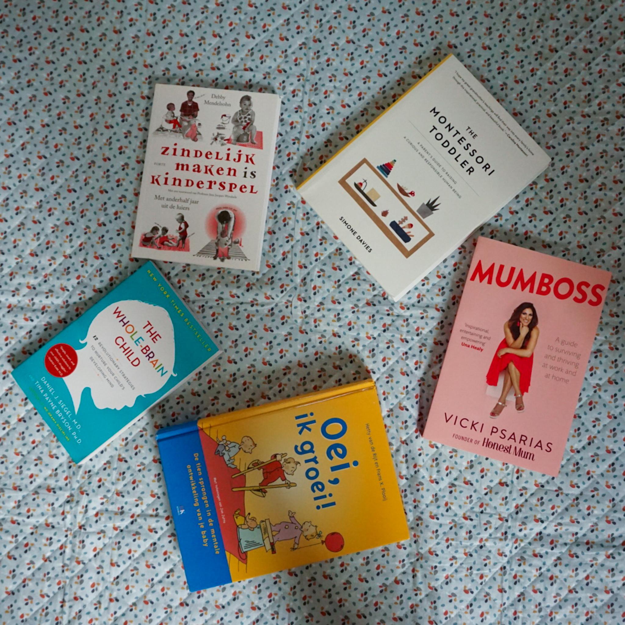 5 onmisbare boeken voor een nieuwe mama