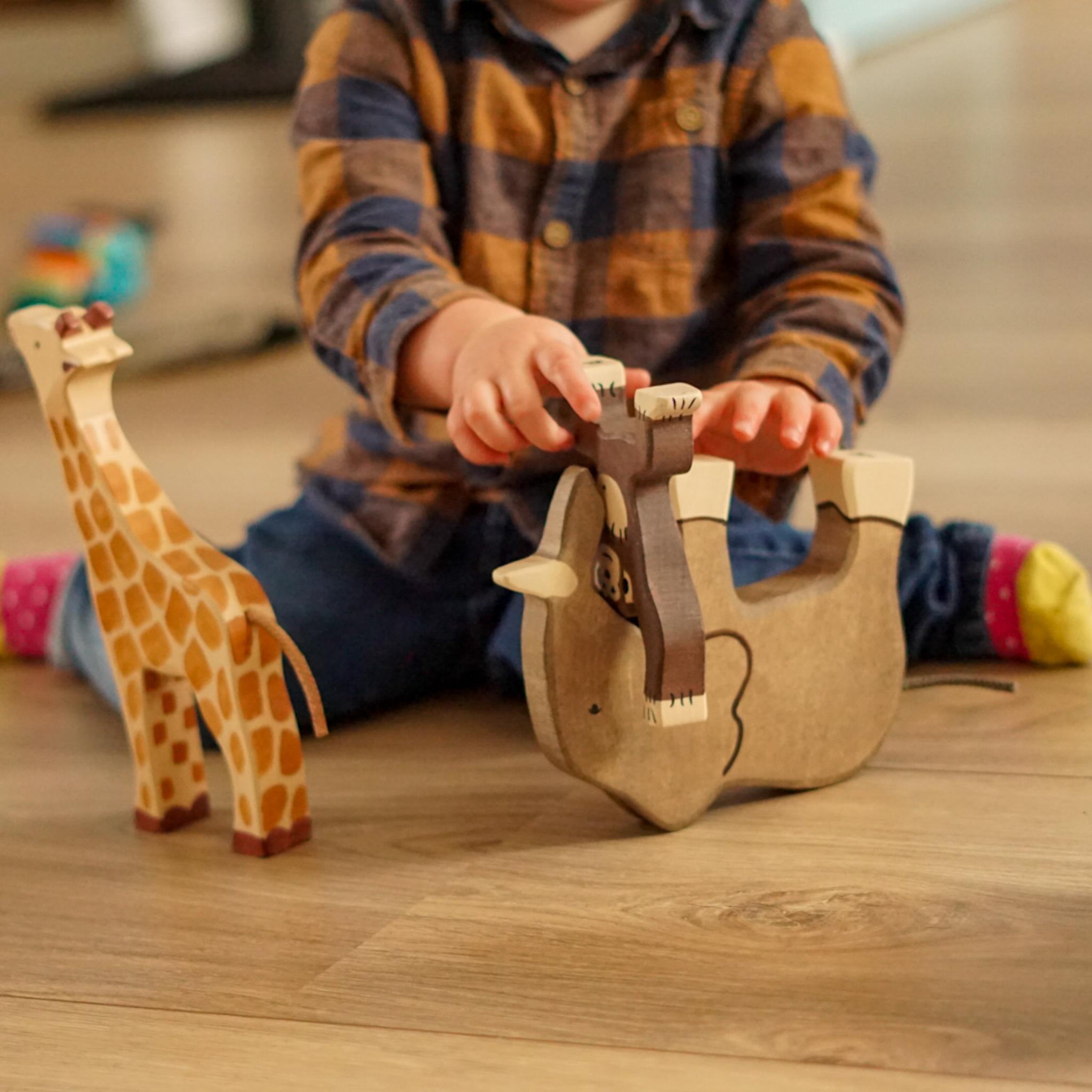 Speeltips met Holztiger dieren