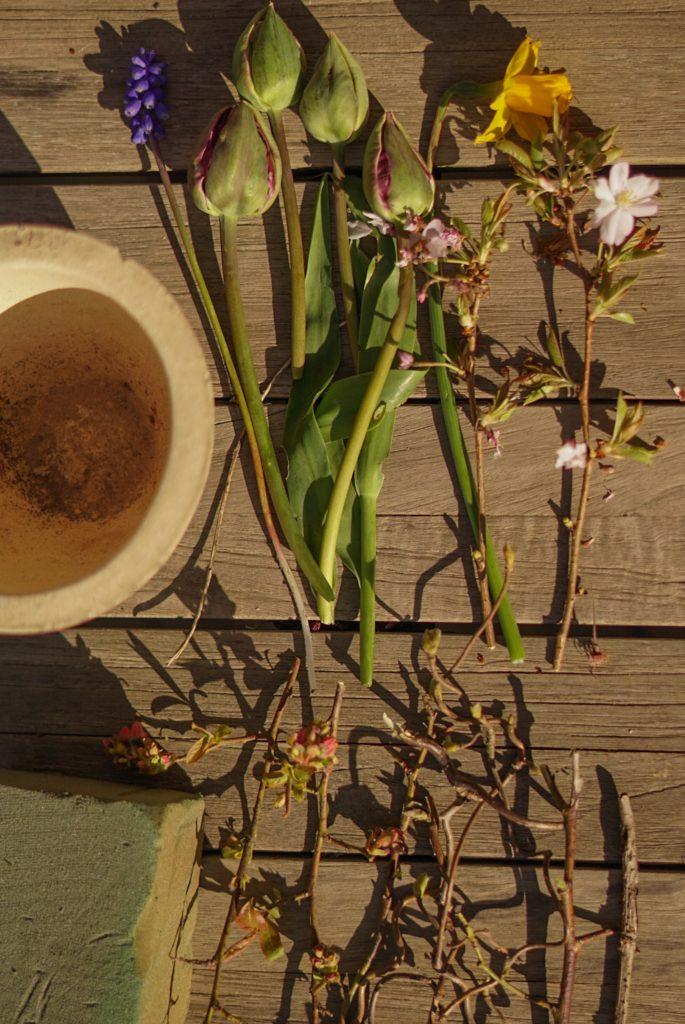 lente bloemstukje maken