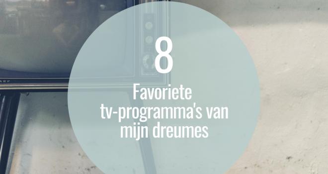 favoriete tv-progamma's dreumes