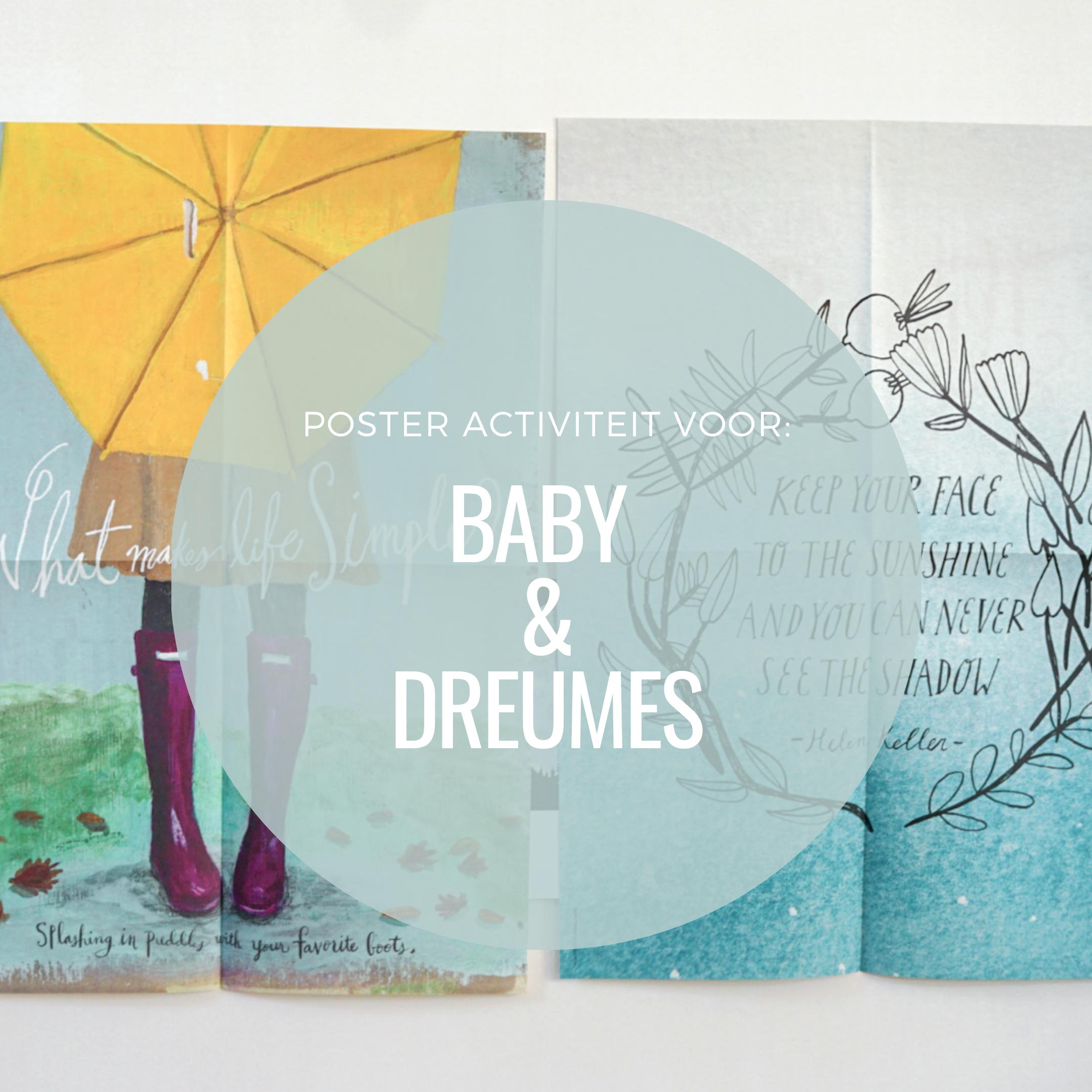 Speeltip voor baby & dreumes: Poster activiteit