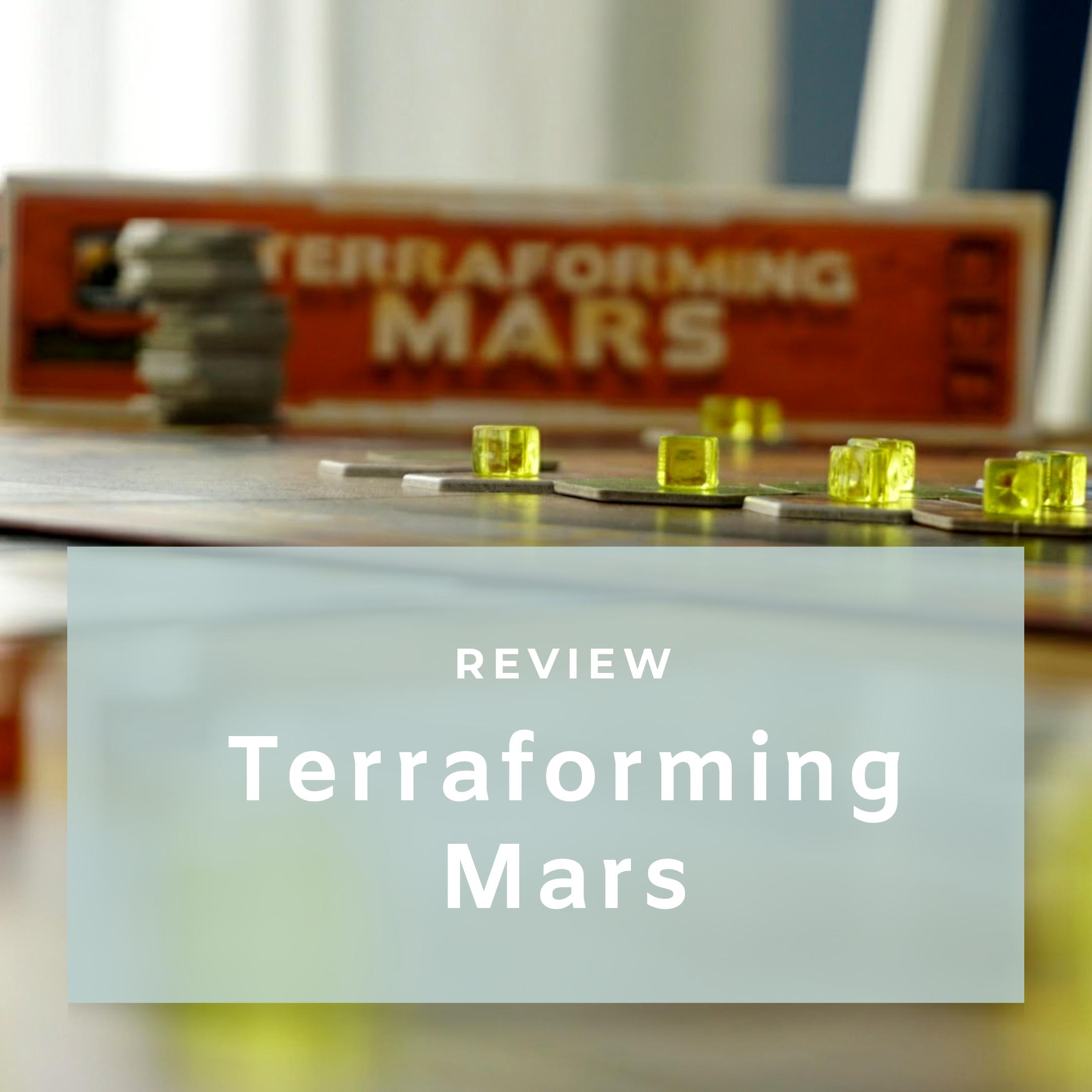 Review Terraforming Mars