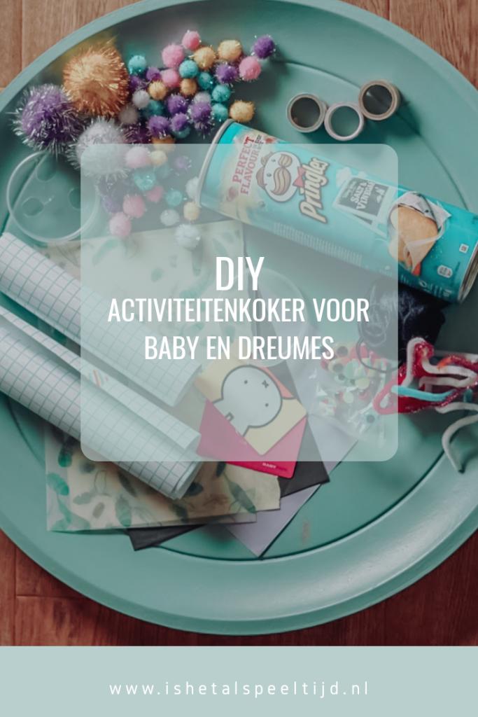 DIY activiteitenkoker voor baby en dreumes