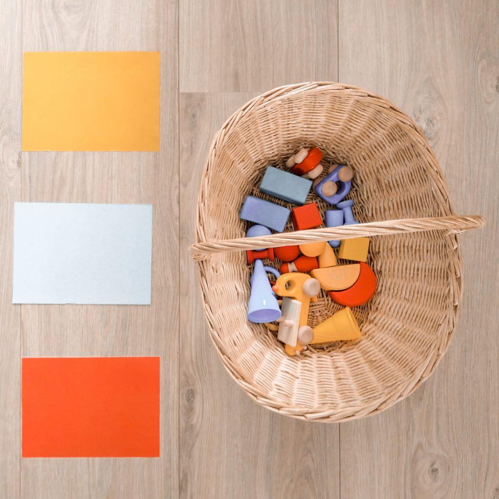 kleur sorteren