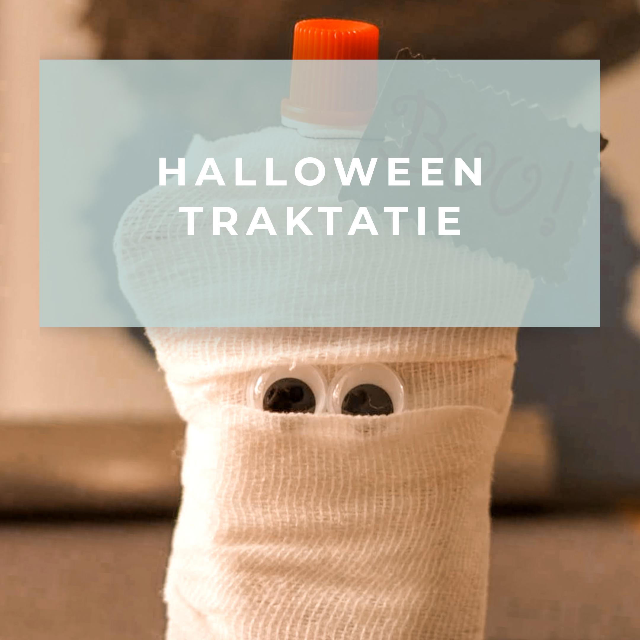Spooky Halloween traktatie voor op het kinderdagverblijf