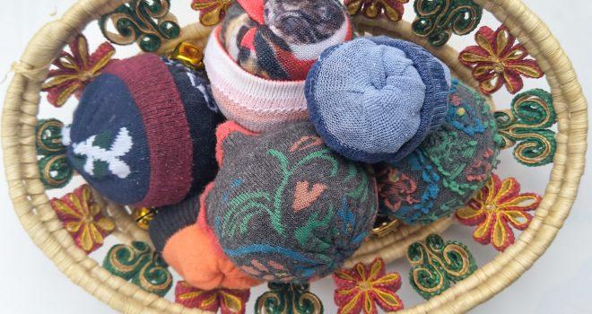 diy pittenzakjes van sokken