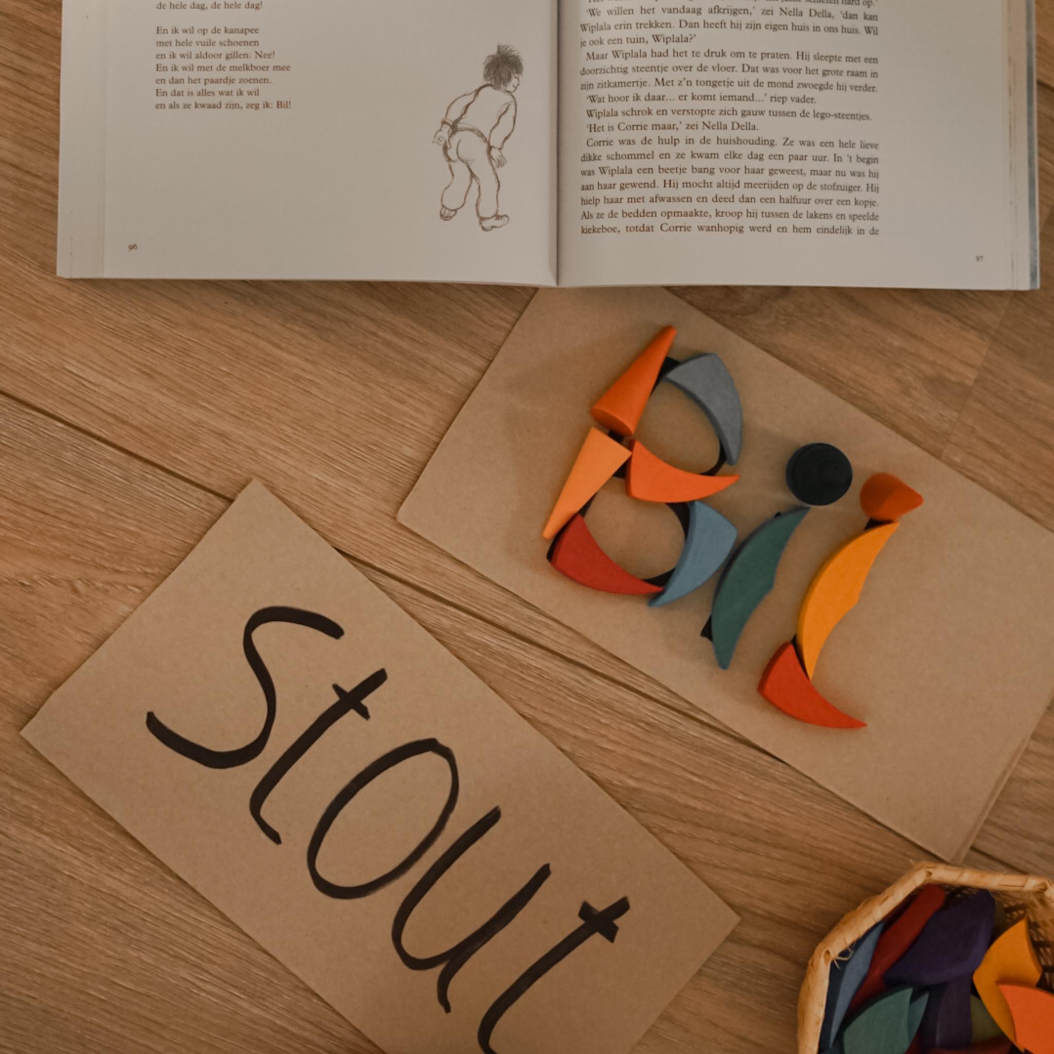 Kinderboekenchallenge: Woordkunstenaar met loose parts