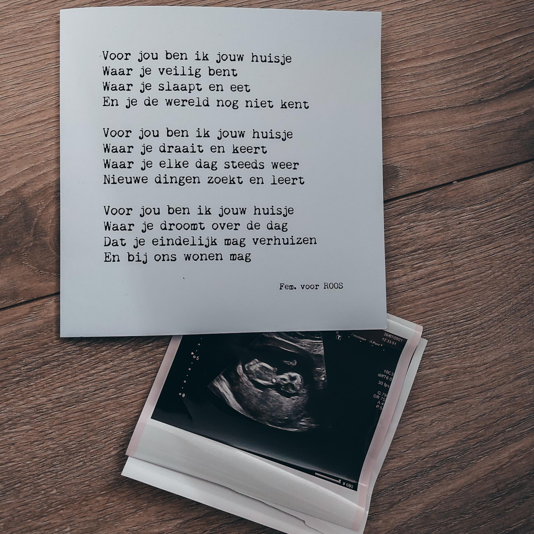 Surprise! Zwanger van de derde. Het eerste trimester.